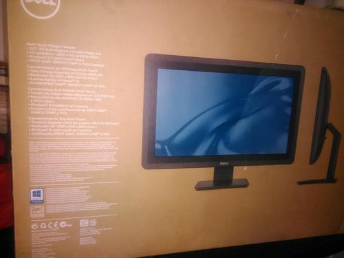monitor dell 20 táctil hd