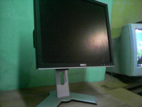 monitor dell pantalla plana 15 pulgadas usado