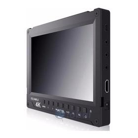 Monitor Dslr Feelword 4k A737 + Bat Np-f970 + Carregador
