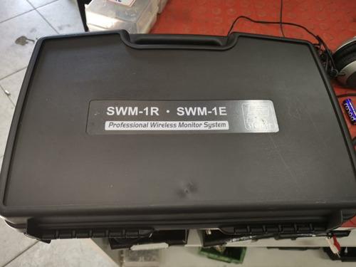 monitor ear sem fio wireless in ear staner swm-1e 100%