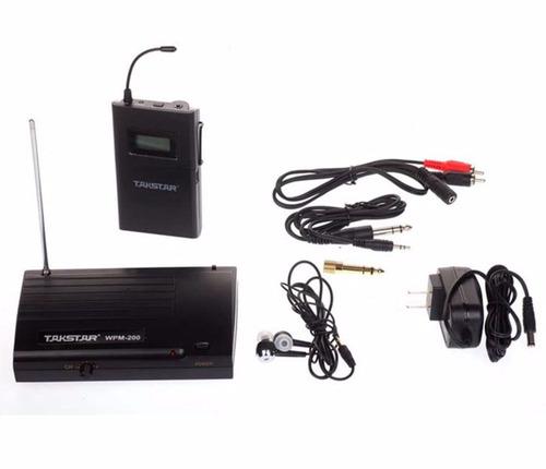monitor-eo personal inalambrico inear system wpm-200 takstar
