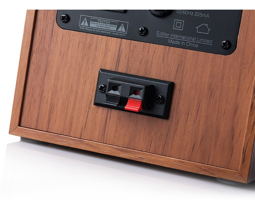 monitor estudio edifier r1000t4 color madera
