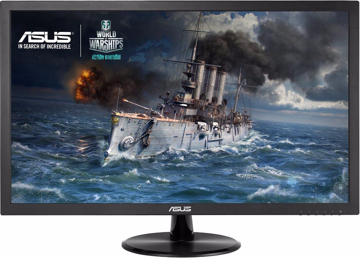 Monitor Gamer 22 Asus Vp228h Hdmi Dvi-d Vga 1ms Bocinas