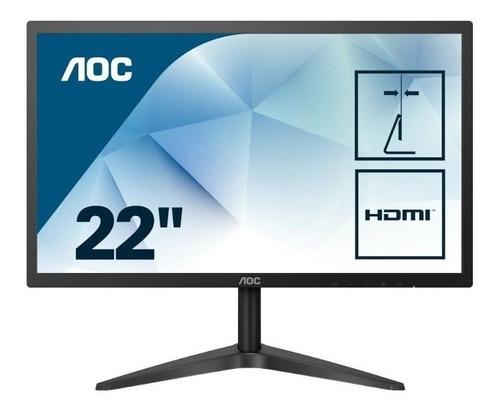 monitor gamer aoc 22 22b1h class full hd 16:9 60 hz hdmi