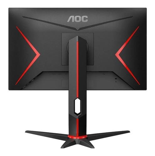 monitor gamer aoc hero 23.8´ ips dp freesync, 144hz 1ms 24g2