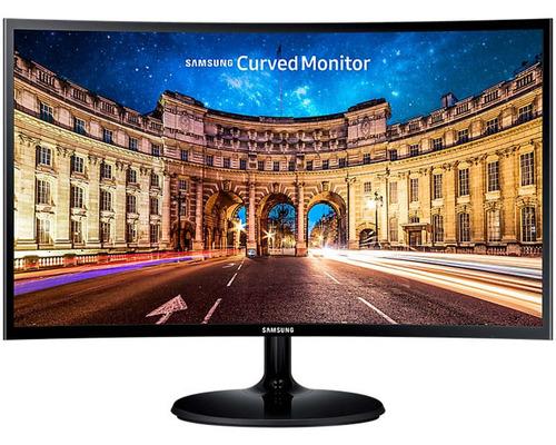 monitor gamer curvo samsung lc24f390fhlxzx 24 pulgadas hdmi