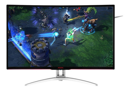 monitor gamer led aoc ag322fcx tela 31.5 widescreen full hd