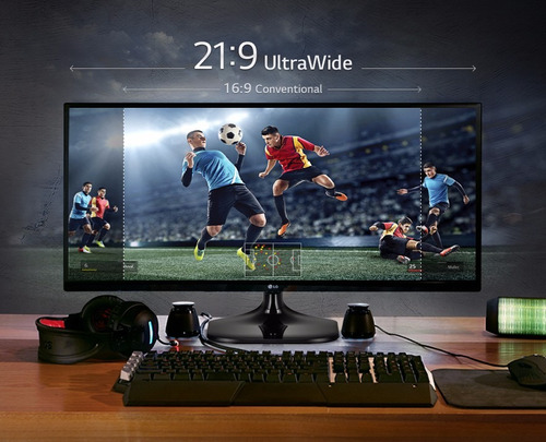 monitor gamer lg 25um58 25'' led ips 2k 5ms hdmi ultrawide