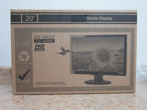 monitor hp 20 w2081d /vga/dvi/hd lcd 1600x900 2 añosgarantia