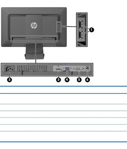 monitor hp elitedisplay e201 - led monitor - 20