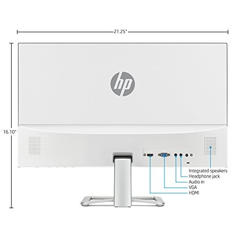 monitor hp fhd ips 23.8 pulgadas con audio