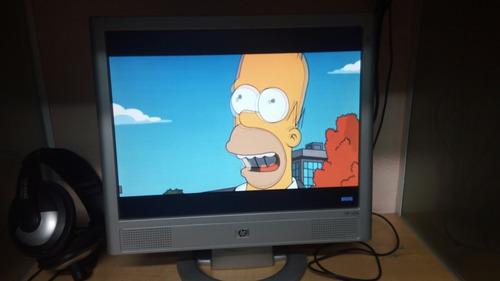 monitor hp lcd 15