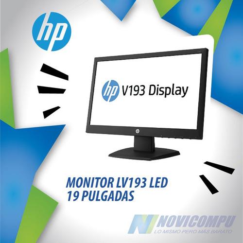 monitor hp lv193 led 19 pulgadas 1 año garantia!
