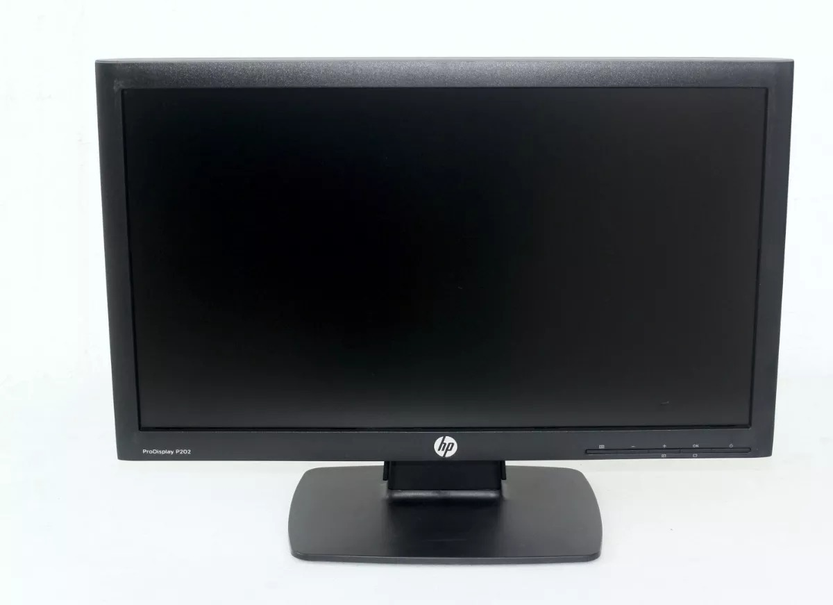 Monitor Hp Prodisplay P202 / P201 De 20 - $ 1,200.00 en Mercado Libre