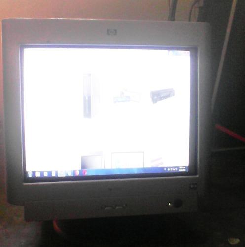 monitor hp7550 crt 17 pulgadas excelente estado