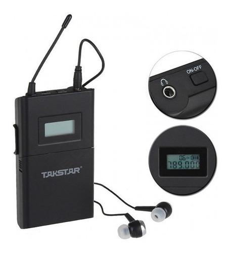 monitor in ear takstar wpm 200 intraural uhf inalambrico cjf