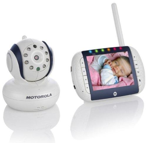 monitor inalámbrico de bebe motorola video nocturno rotación