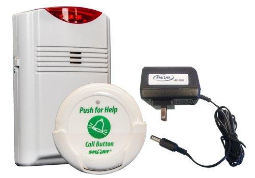 monitor inalámbrico smart caregiver con 1 botón de llamada
