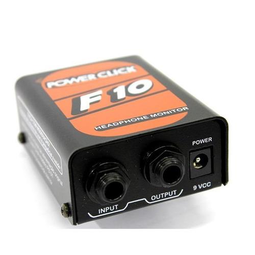 monitor individual de áudio power click - f10