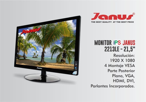 monitor janus ips 24