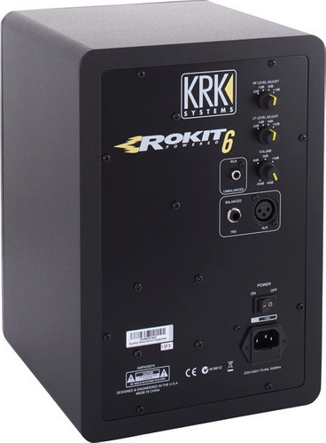 monitor krk rp6 para estudio de grabacion near field g3