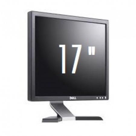 monitor lcd 17  grado a+ negro