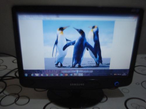 monitor lcd 17 samsung mod 732nw excelente calidad de imagen