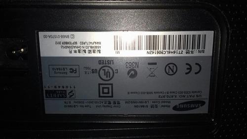 monitor lcd 19 pulgadas samsum modelo s19a10n