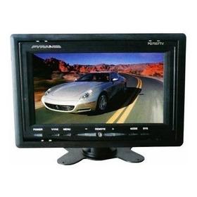 Monitor Lcd 7 Polegadas Para Carro E Câmeras De Segurança
