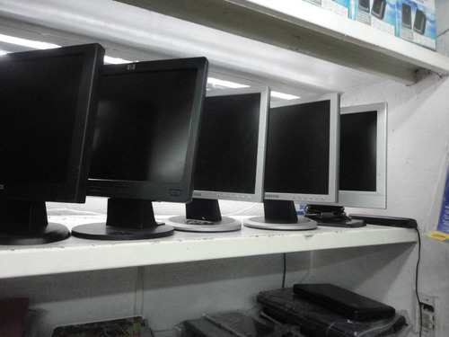 monitor  lcd de 15  con cables triple aaa garantizado