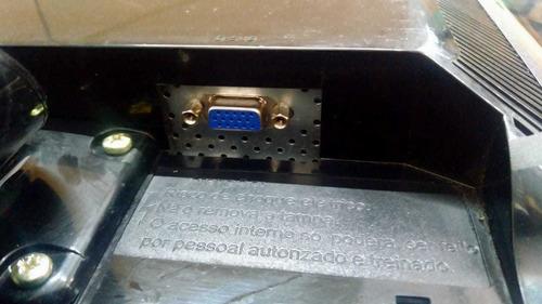 monitor lcd lg 17 pol. widescreen / l177ws - seminovo