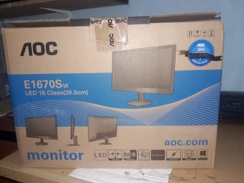 monitor led 16 pulg aoc