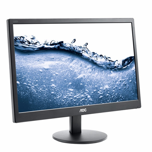 monitor led 18.5'' aoc e970sw vga nuevos paga con debito