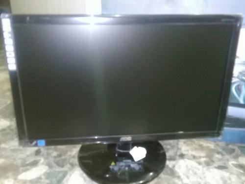 monitor led 18,5'' ultra slim aoc