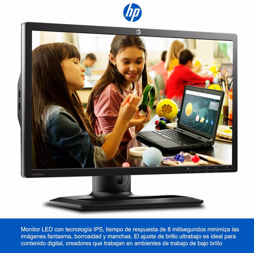 monitor led 22  hp linea empresarial con ips - zr2240w