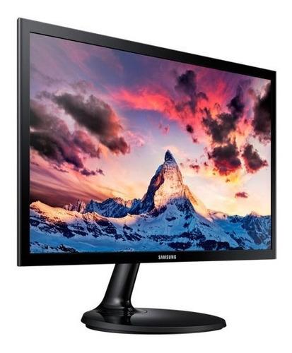 monitor led 22 samsung f355 hd slim ideal pc vga gtía 3 años