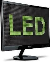 monitor led aoc de 16  ideal  cctv oficinas por usb no luz