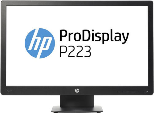 monitor led hp prodisplay 22 full hd 1920x1080 vga/dp - p223