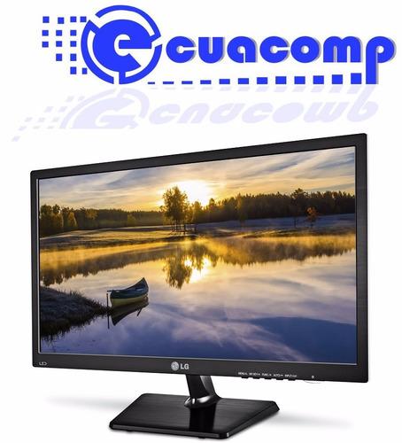 monitor led lg 20m37h wide screen de 20'' vga hdmi + audio