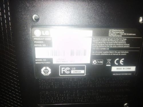 monitor led lg 22' modelo 22m35a