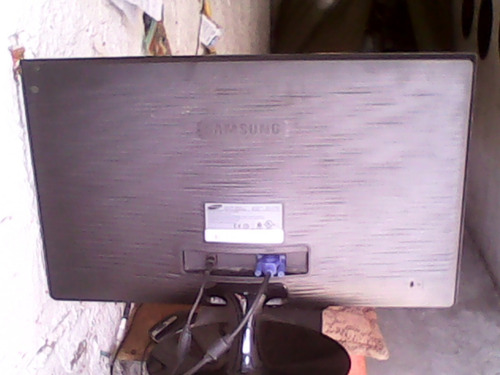 monitor led samsung 19 pulgadas vga negro delgado at