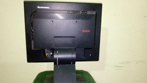 monitor lenovo 15  . modelo 9165-ab6. usado 100% operativo