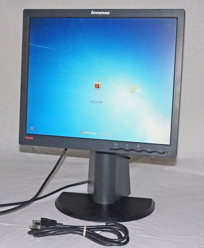 monitor lenovo 17 lcd base giratoria hdmi perfecto estado