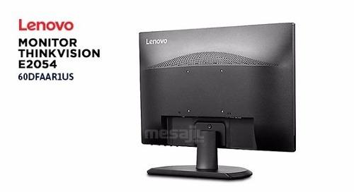 monitor lenovo  modelo e2054 19.5 3 años de garantia ntic