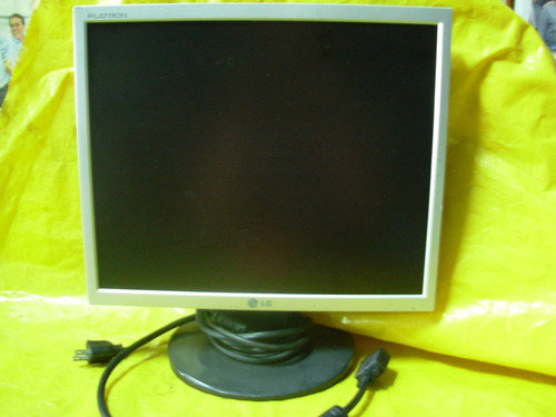 monitor lg - 17  - lcd - 1753t - sf - u. dono - impecavel -
