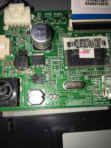 monitor lg 22 pulgadas e2242c malo reparar