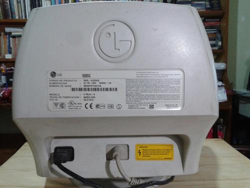 monitor lg 500g 15  crt vga funciona ituzaingo