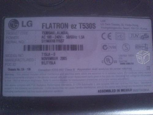 monitor lg flatron ez t530s