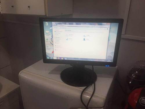 monitor lg flatron w1642c - tela de computador - usado