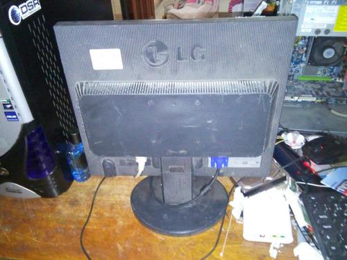 monitor lg lcd 17, s/cabos